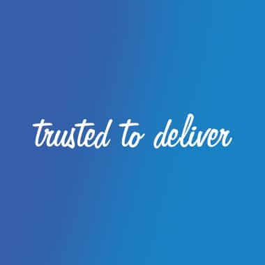 pinpoint one trusted to deliver